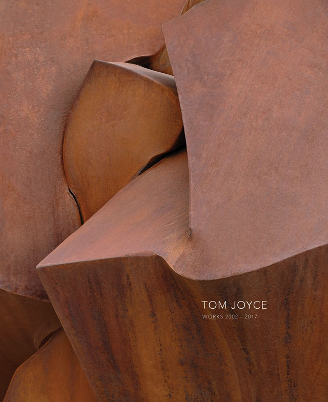 Tom Joyce, sculpture, forged stainless steel