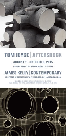 Tom Joyce, Aftershock, James Kelly Contemporary
